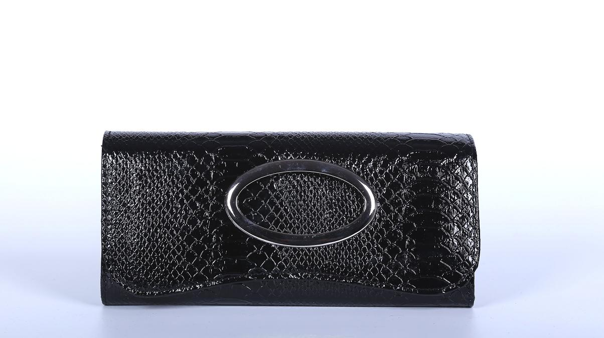 Poseta clutch neagra H02015
