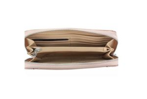 Portofel Dama Guess Delaney Rose Gold Zip-Around 4
