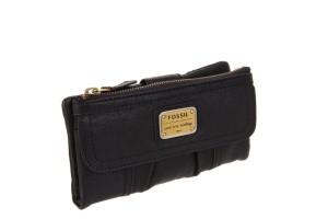 portofel fossil emory clutch negru SL2931