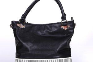 geanta alb negru impact