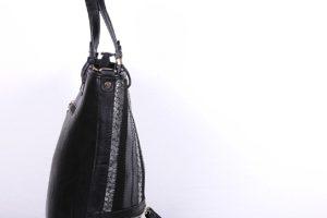 geanta dama herrison negru silver 3