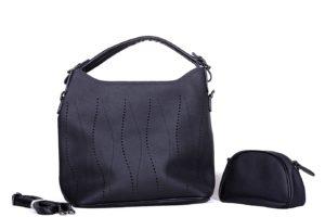 geanta dama potri negru borseta