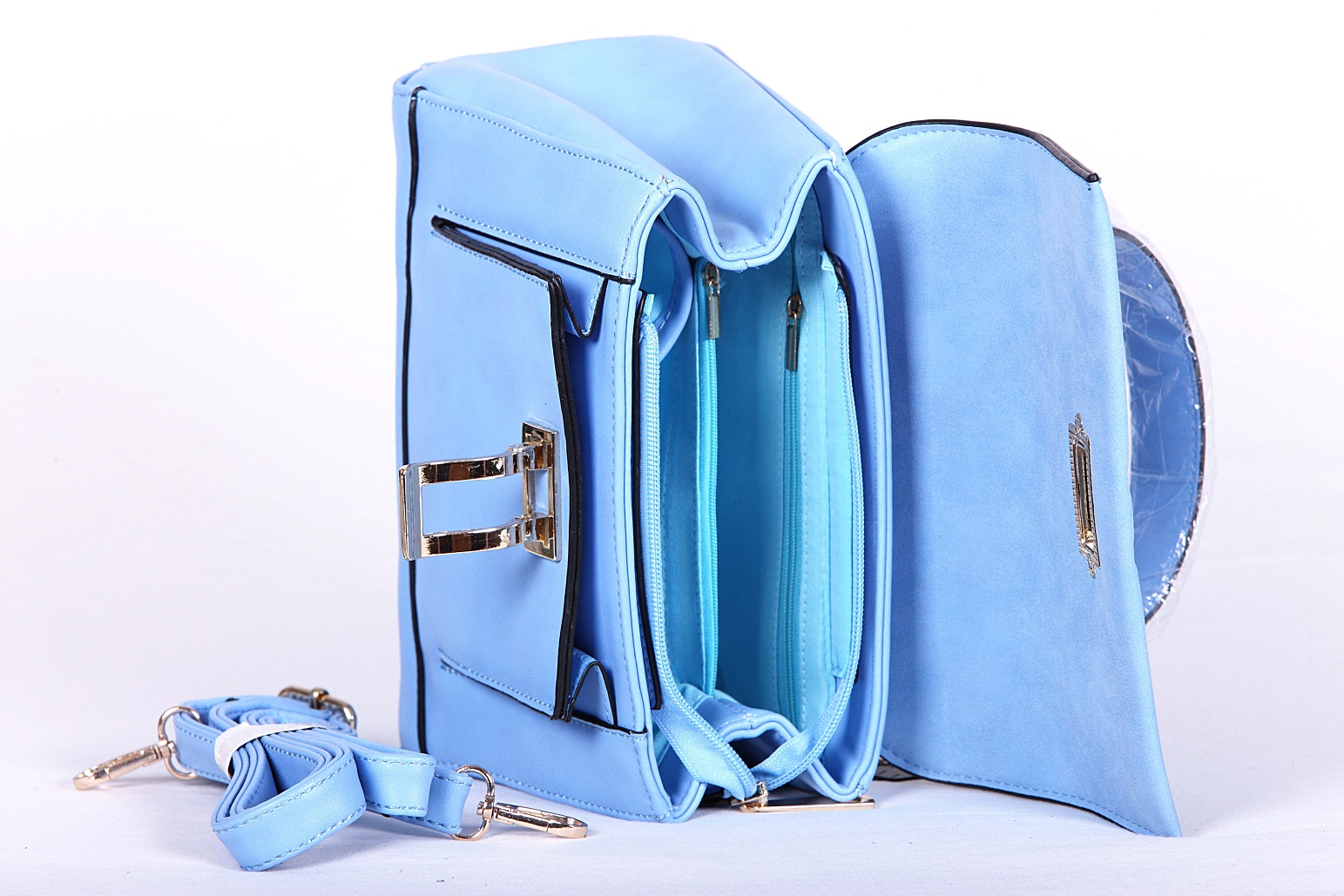 geanta johnny & johnny albastru 4