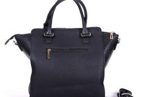 geanta neagra piele eco office 1
