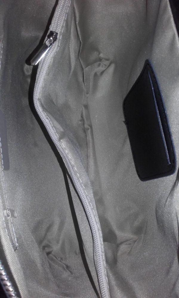 geanta negru office piele naturala italia 4