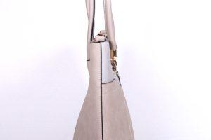 geanta silvia rosa crem argintiu 3